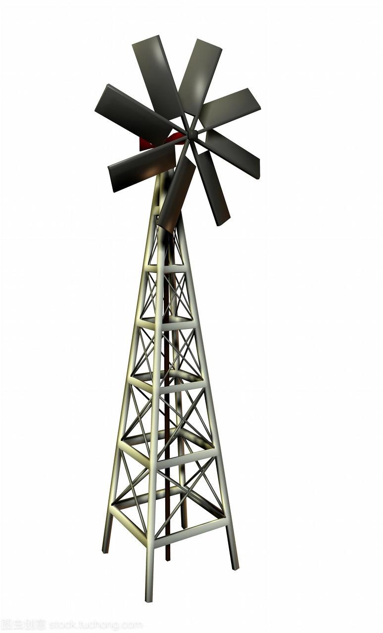 电脑风车发电。这种图纸的类型可靠绘图或用来风车买网上么图片