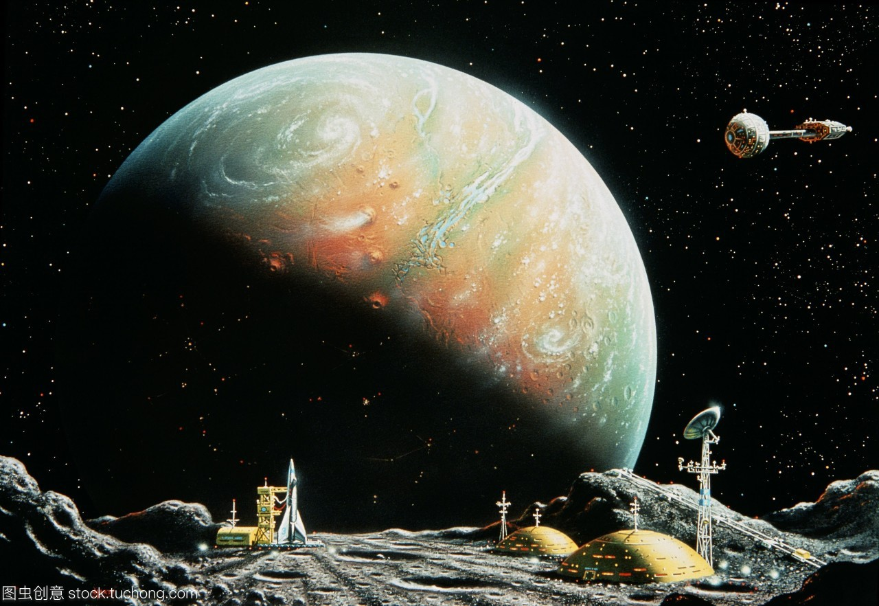 艺术家对火卫一的照片,火卫一,火星的内部印象的最卫星高中生帅图片