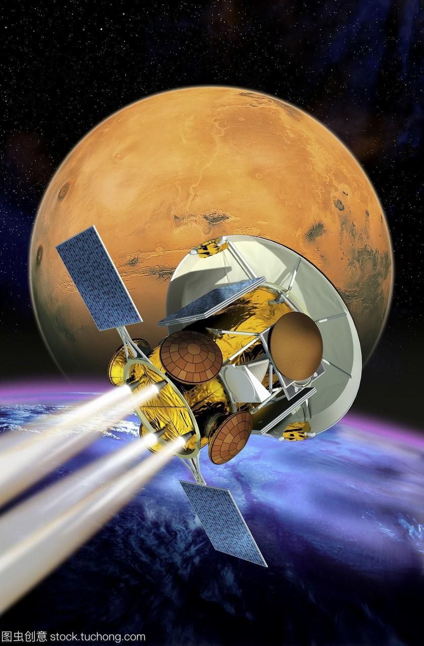 火星采样返回宇宙艺术品。这个cnes罗田名师任务高中法国十大图片