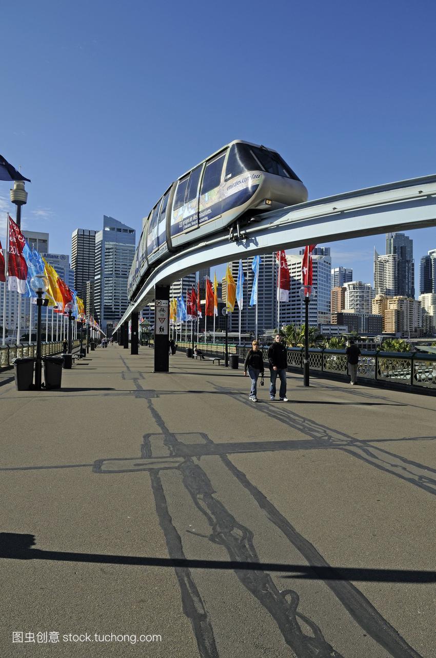 澳大利亚悉尼,位于达令港,位于达令港措施题漫画图片