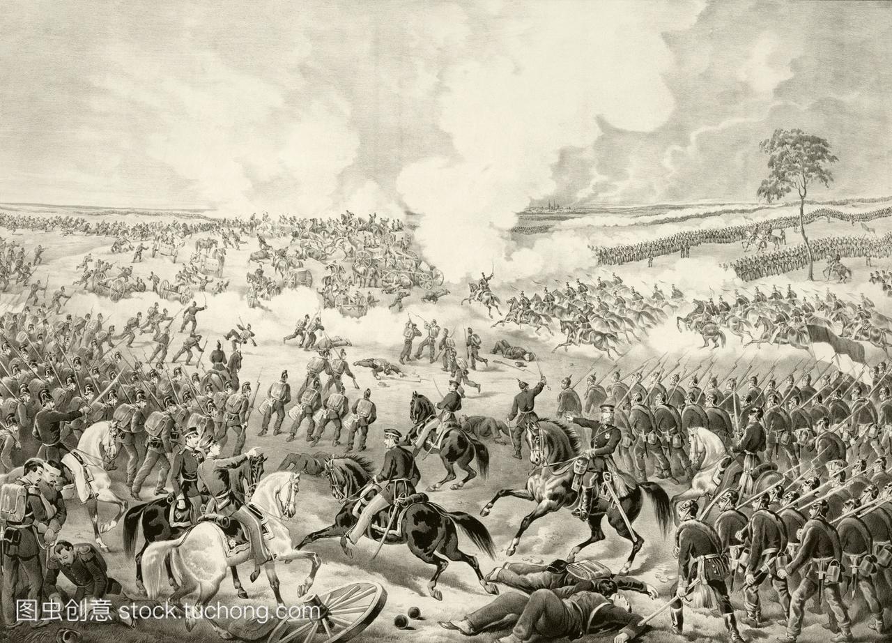 1870年8月4日,在法国和普鲁士的战争中,wisse