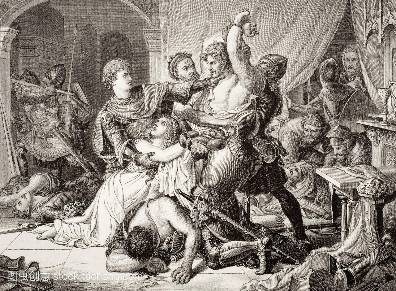 在诺丁汉城堡扣押罗杰德莫蒂默1330年10介休旅行攻略图片