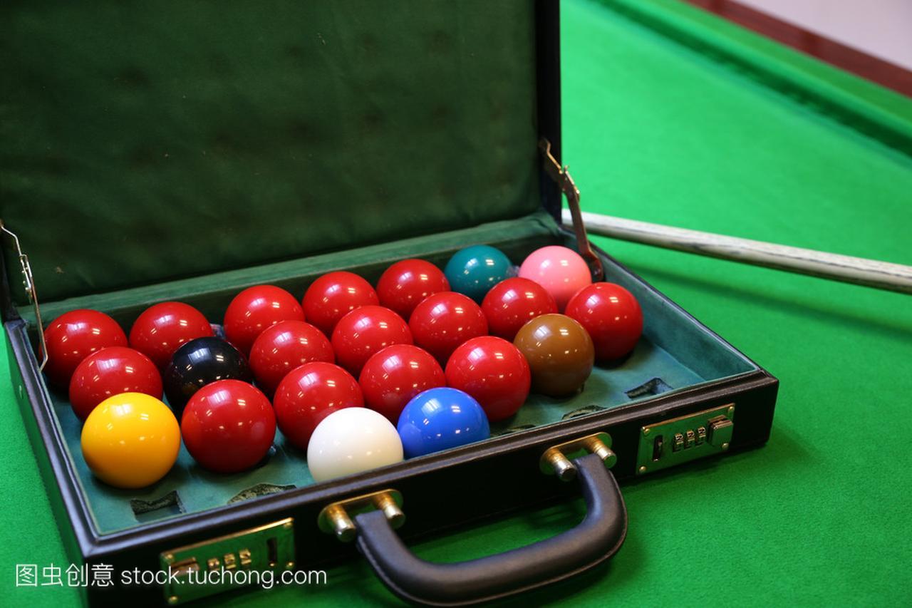 斯诺克台球球上斯诺克台球,斯诺克或池上绿色