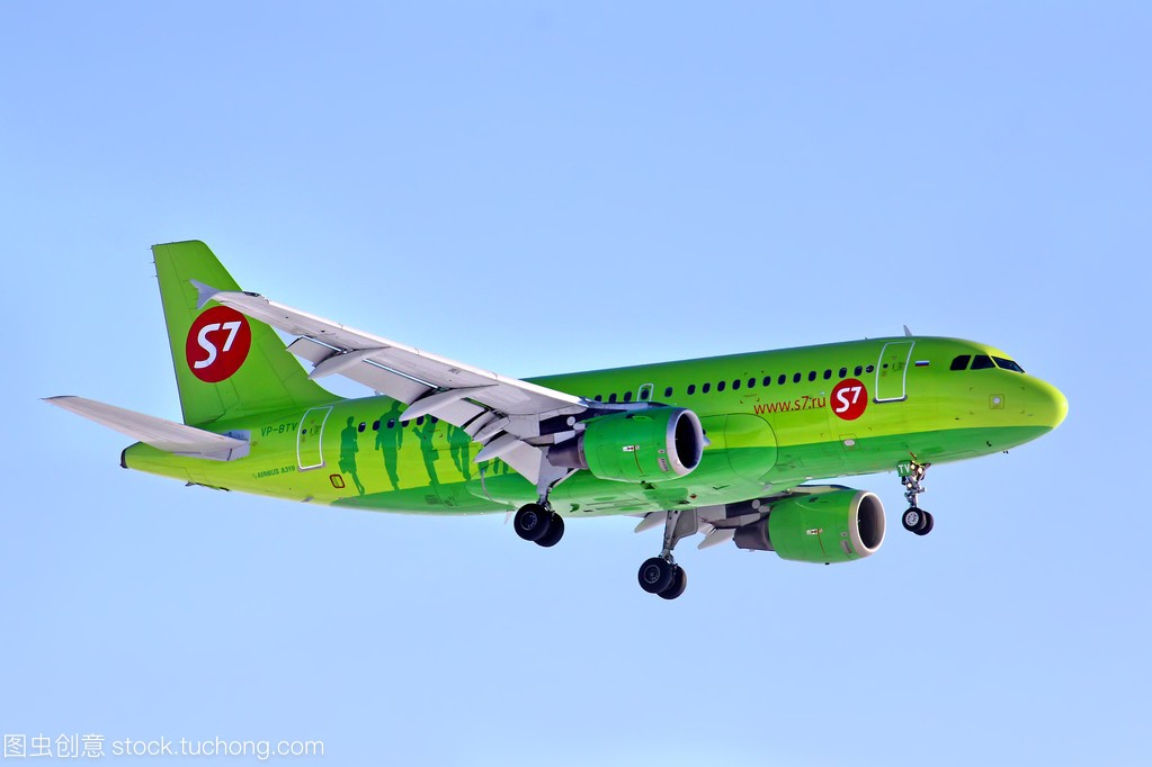 S7 航空公司空中客车 a319 型