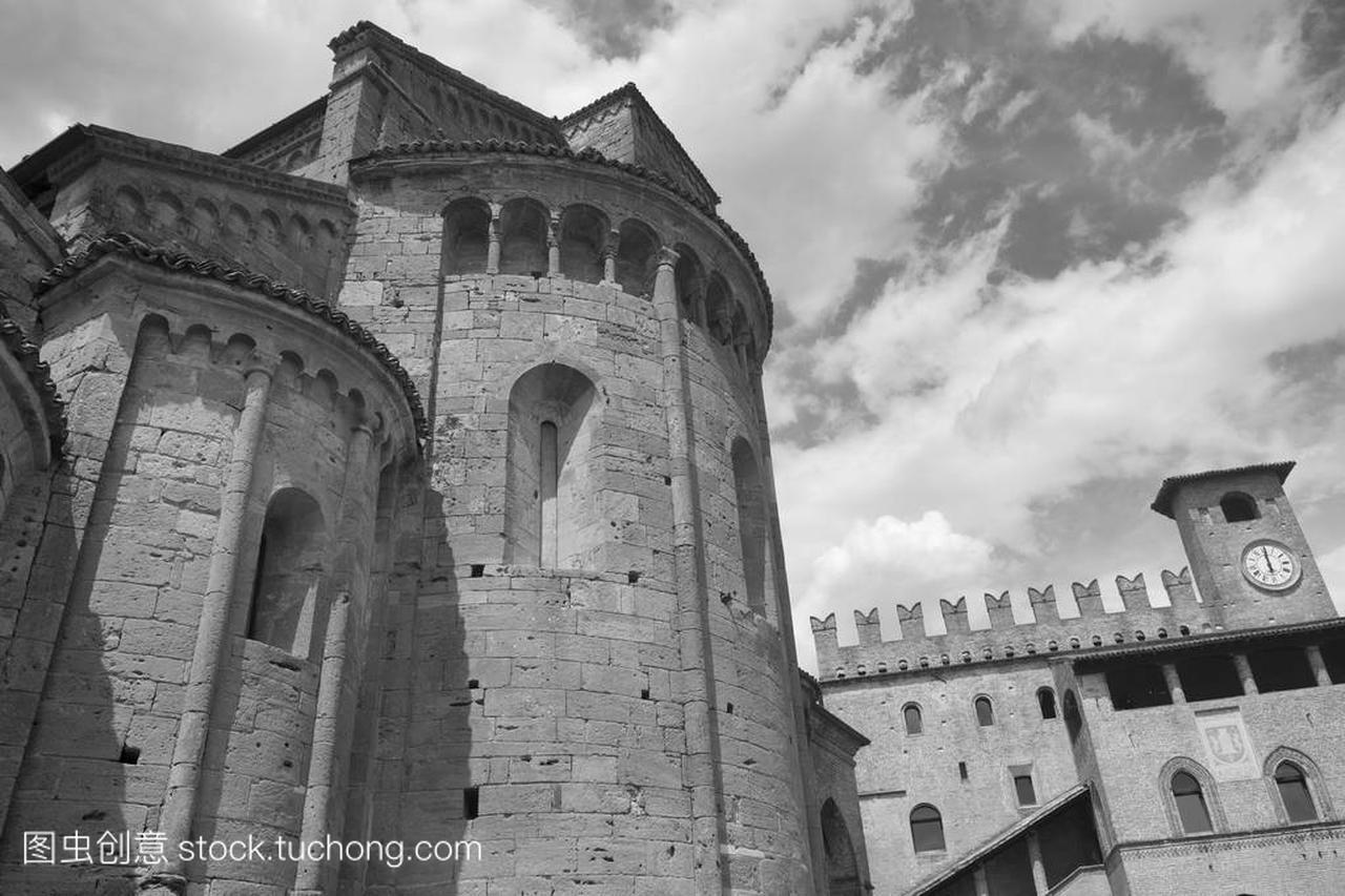 Castell'Arquato (皮亚琴察,意大利),历史文化名城