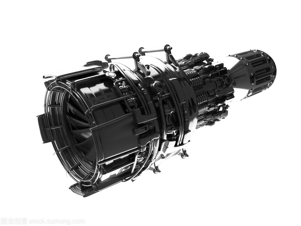 喷气发动机涡轮叶片的飞机、 飞机概念、 航空