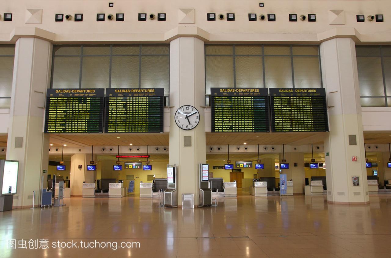 机场内部-马拉加