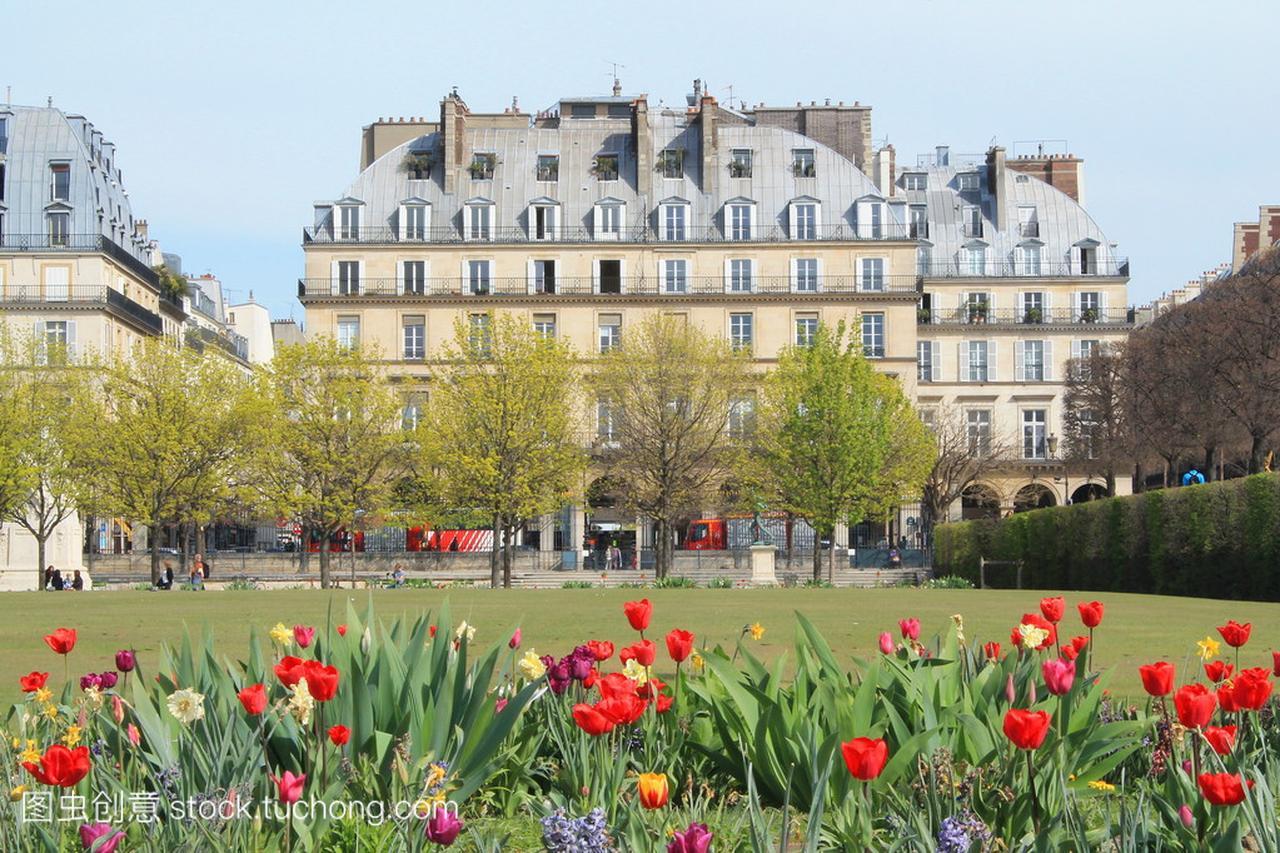 巴黎,法国的首都城市的纪念碑
