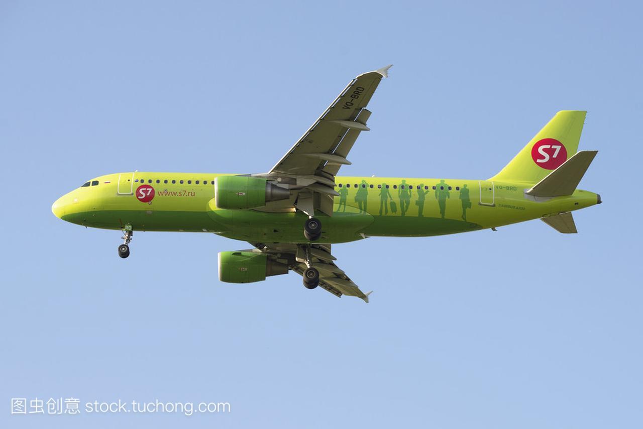 飞空客 A320 (Vq Brd) S7-西伯利亚航空公司为