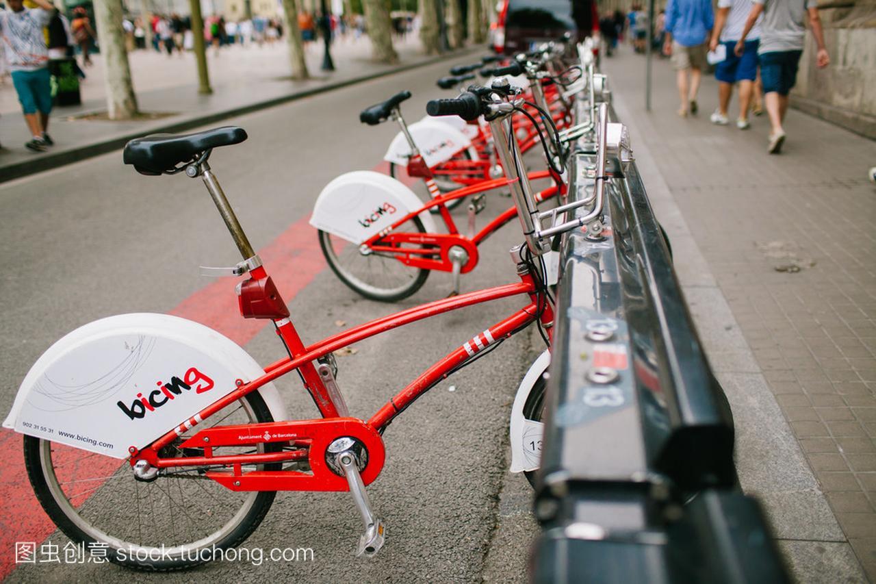 在巴塞罗那租自行车