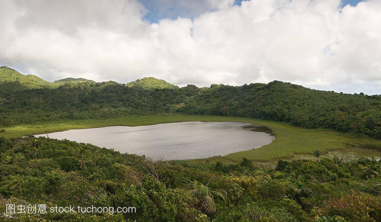 格林纳达岛-大鹅国家公园-大鹅湖