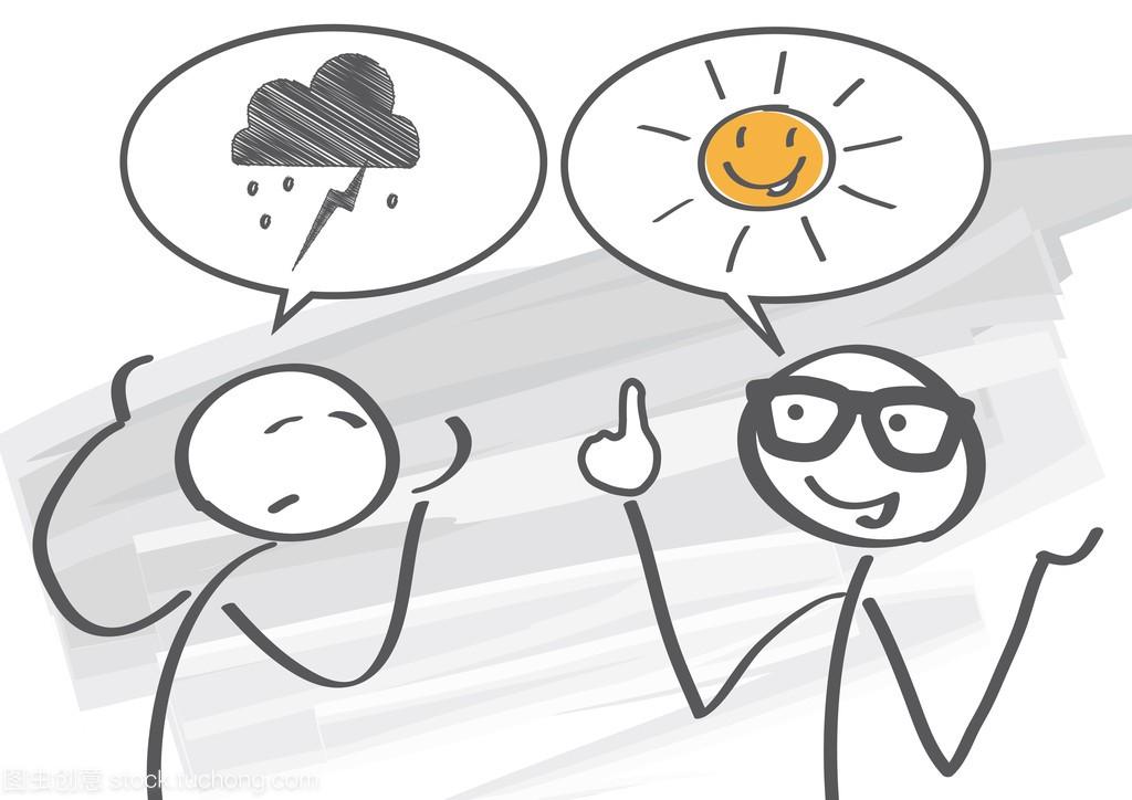 乐观主义者与悲观主义者
