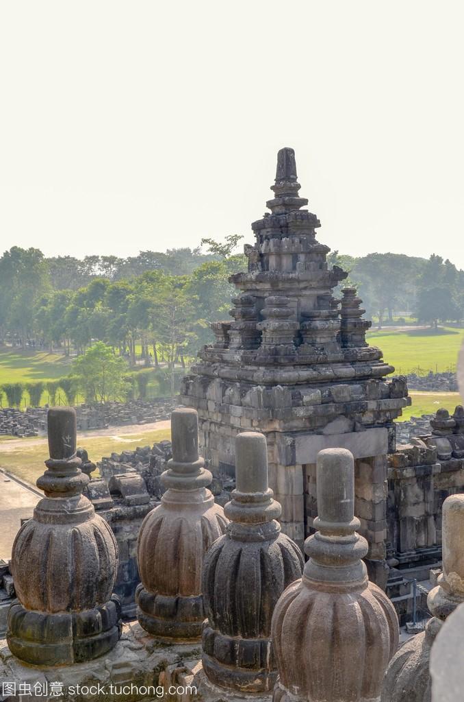 普兰巴南寺,在印度尼西亚,Java 最大的印度教