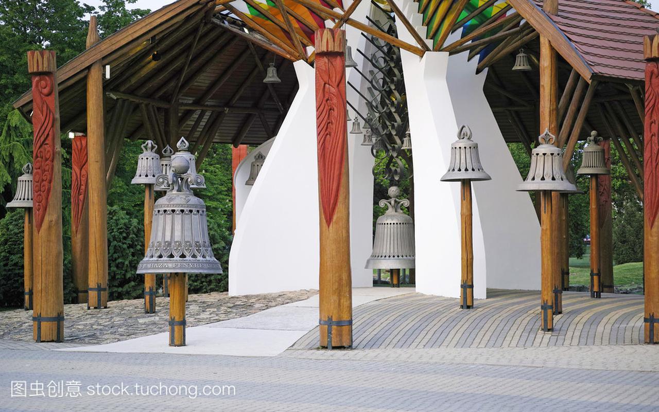 Hajduszoboszlo , Hungary .The Bell house .