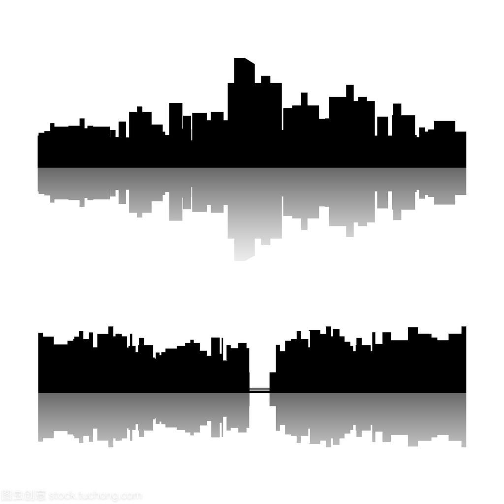 黑色城市剪影集