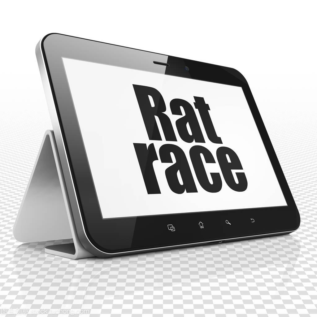 经营理念: 平板电脑与显示器上的老鼠赛跑