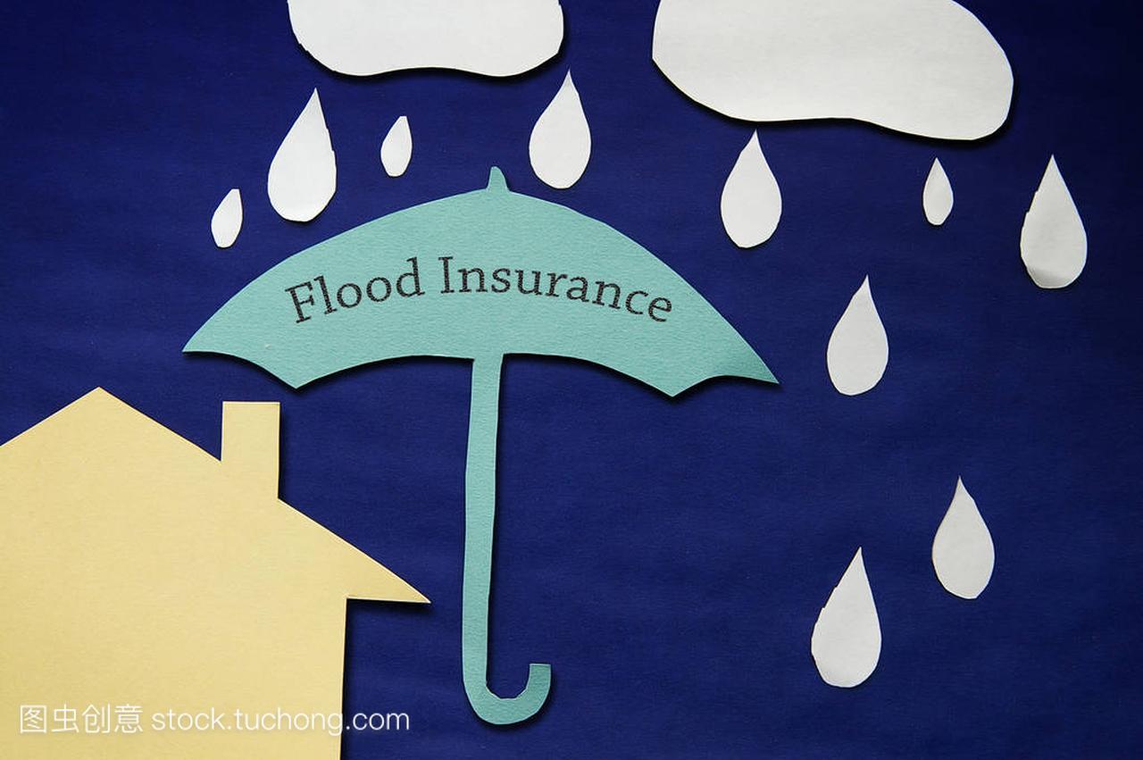 洪水保险概念
