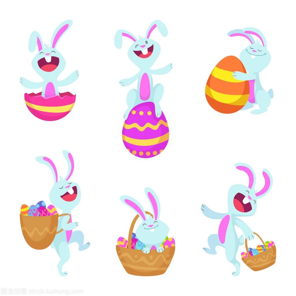 设置复活节兔子的特征