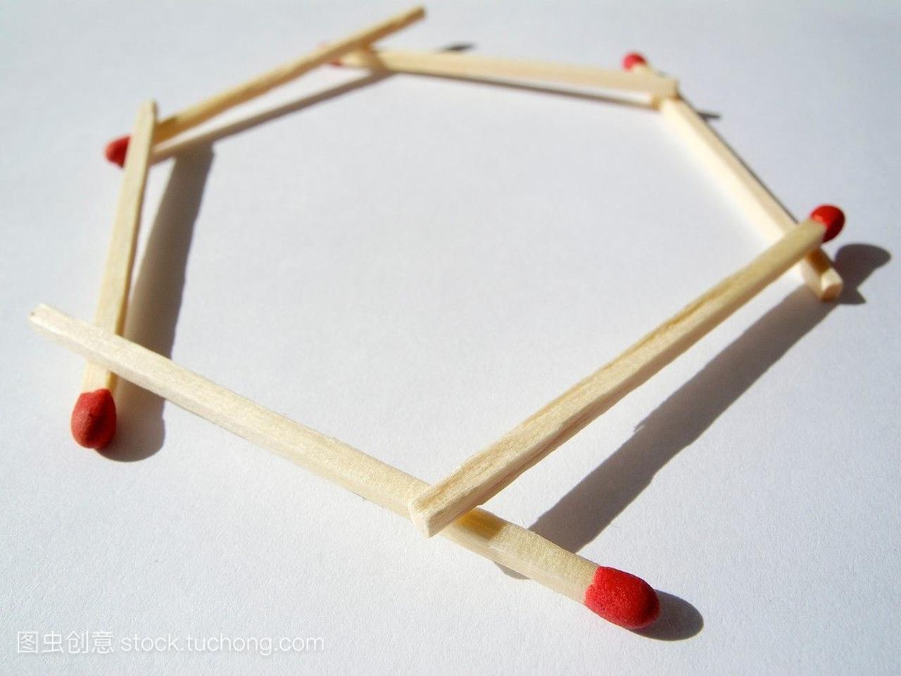 链接到六角相匹配。