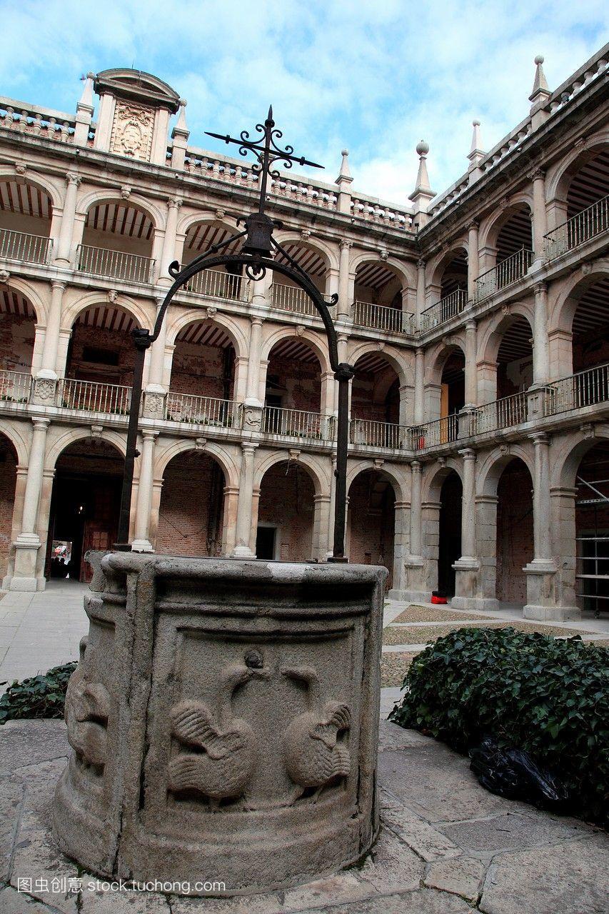 西班牙马德里alcaladehenares大学内部