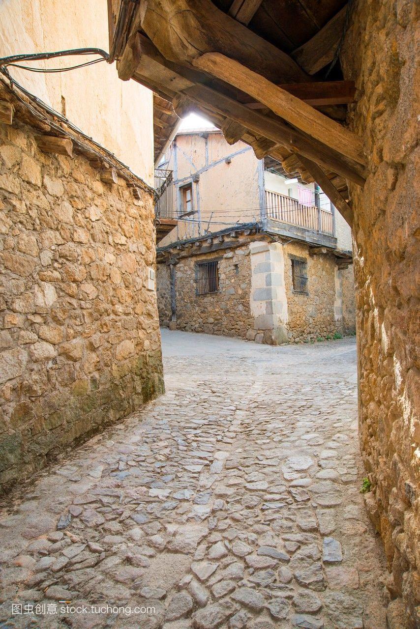 Cobbled街。圣·马丁的祖先吗?ar塞拉利昂法
