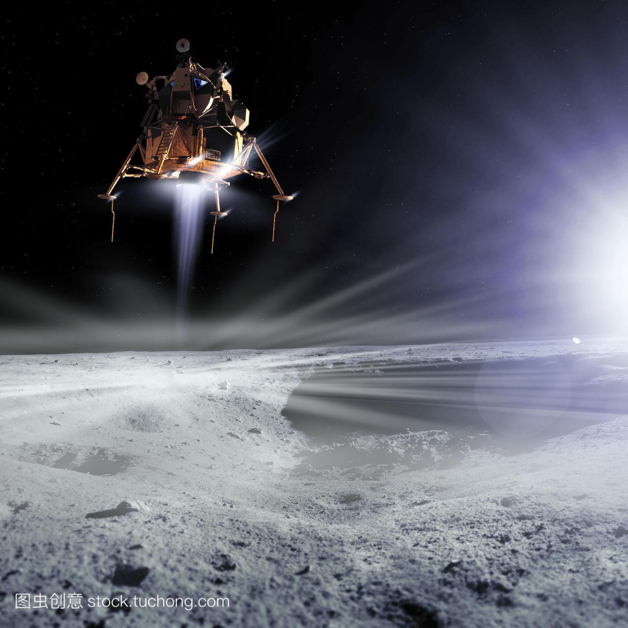 阿波罗11号登月的美国宇航局的阿波罗11号登