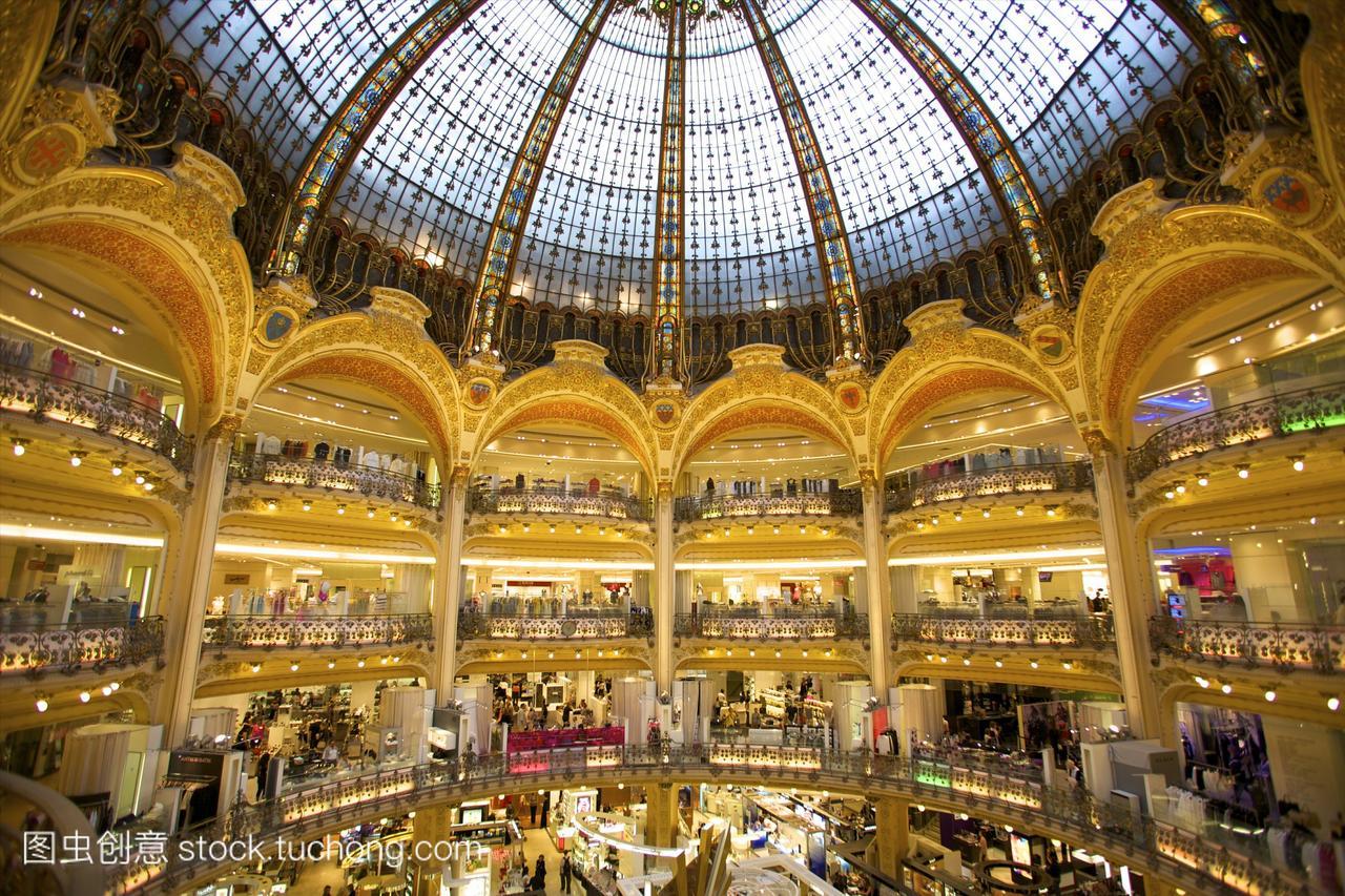 老佛爷,巴黎,法国,欧洲