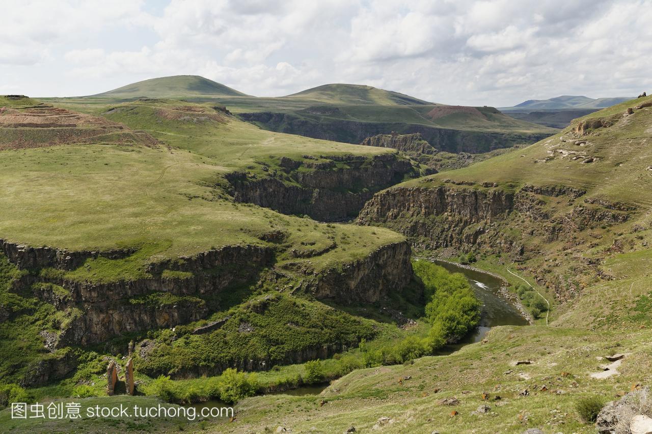 土耳其,安纳托利亚,卡尔斯,前亚美尼亚首都阿尼