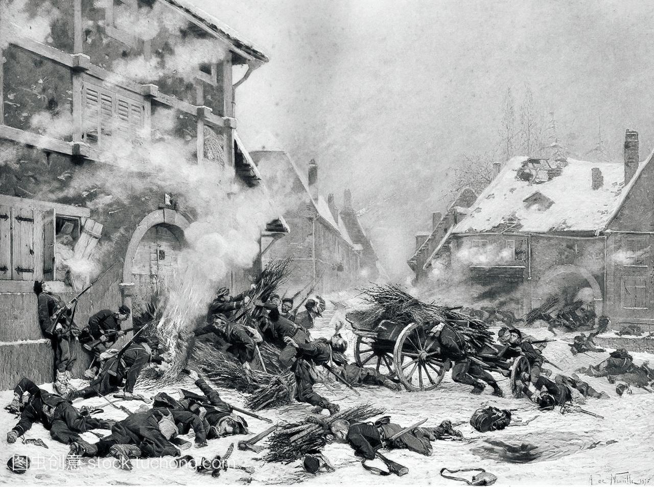 1870年至1871年法国普鲁士战争期间,法国艺术