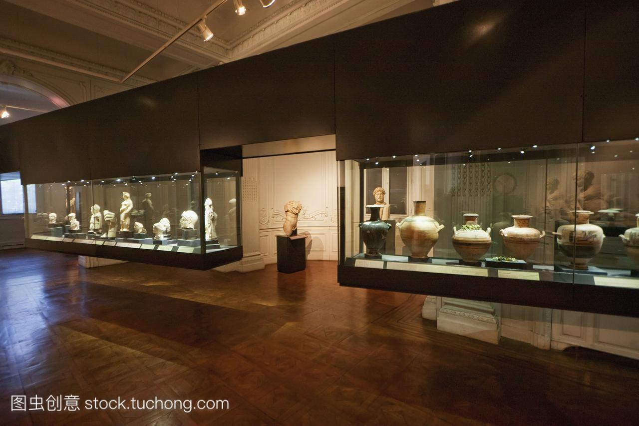 在亚历山大港的亚历山大国家博物馆alexandria