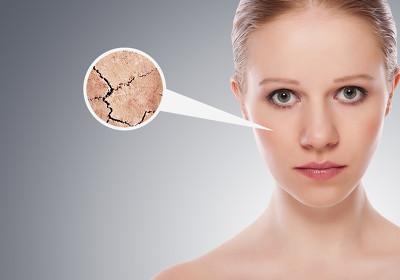 美容效果、 治疗和皮肤护理的概念。y 的脸